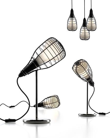 Lámpara Cage Micrófono de Foscariniclass=