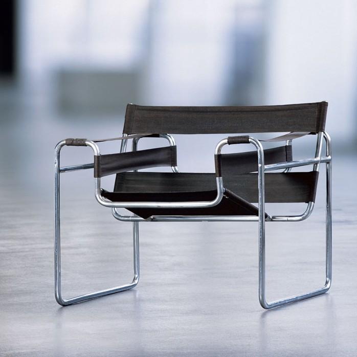 Conceptual model berlin moma ny marcel breuer club chair b3 1926