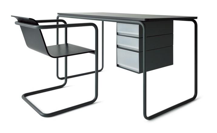 Despacho y silla de acerto tubular de Konstantin Grcicclass=