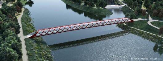 Peace Bridge Calgary Santiago Calatrava 1class=