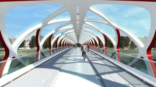 Peace Bridge Calgary Santiago Calatrava 2class=