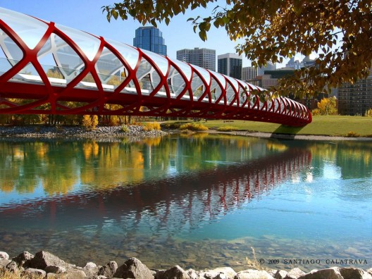 Peace Bridge Calgary Santiago Calatrava 3class=