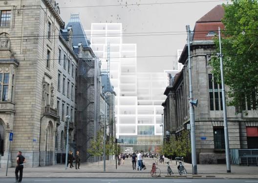 Rem Koolhaas concurso ayuntamiento Rotterdam 1class=