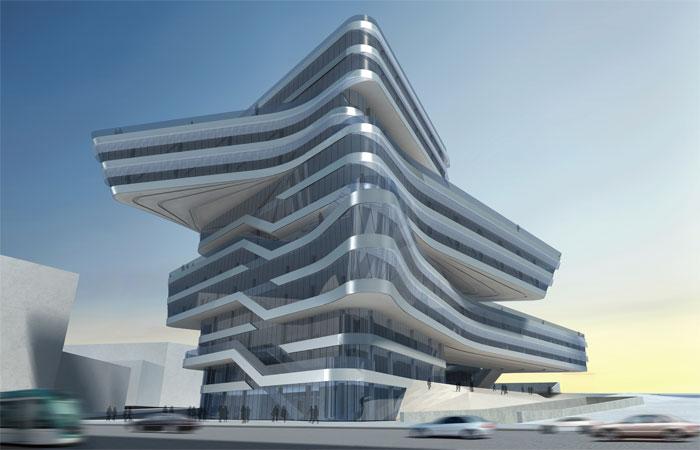 Torre Espiral Zaha Hadid Barcelona 1class=