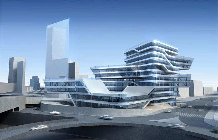 Torre Espiral Zaha Hadid Barcelona 3class=