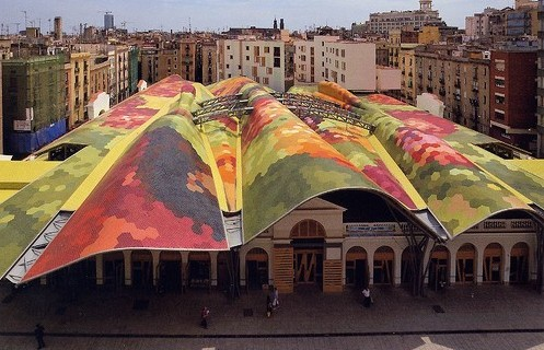 Benedetta Tagliabue International Fellowship del RIBA en la UEM Mercat Santa Caterina