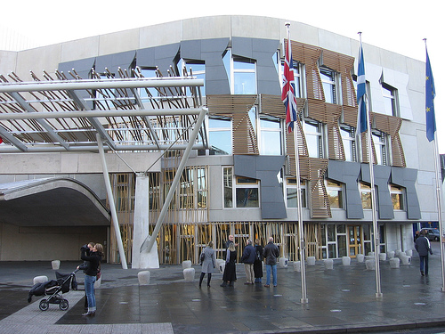 Benedetta Tagliabue International Fellowship del RIBA en la UEM Parlamento de Escocia