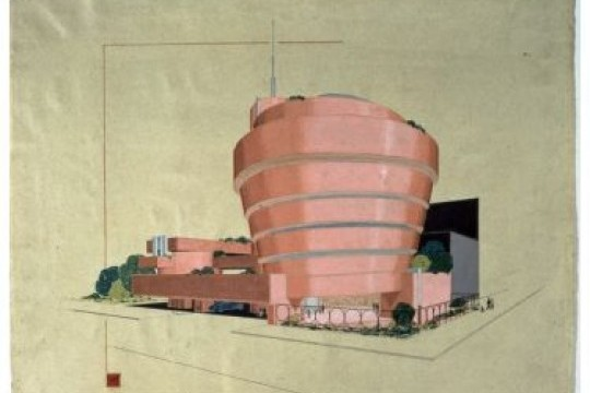 Guggenheim de Bilbao exposición Frank Lloyd Wright Solomon R. Guggenheim Museum