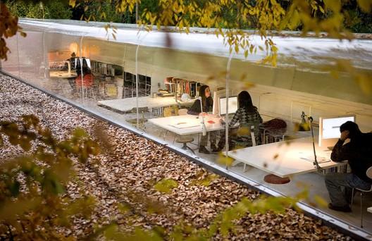 Oficinas del estudio de arquitectura selgascano en madrid for Estudios arquitectura madrid