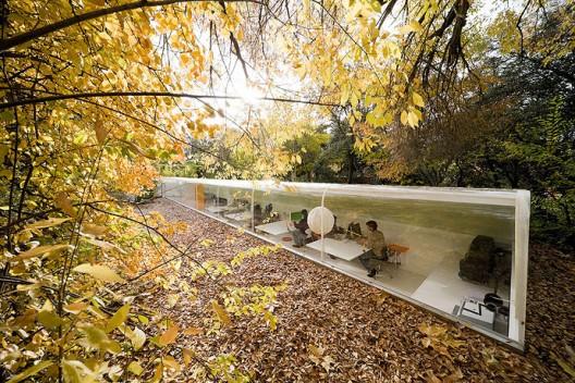 Oficinas del estudio de arquitectura Selgascano en Madrid. 1class=