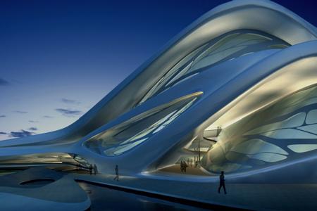 Zaha Hadid Praemium Imperiale Abu Dhabi Performing Arts Centre