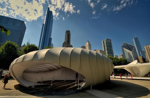 Zaha Hadid Praemium Imperiale Pabellón Burnham en Chicago