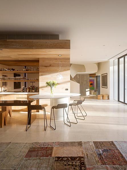Casa Yarra de Leeton Pointon Architects en Melbourne Australia Cocinaclass=