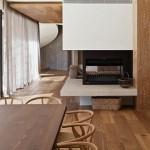 Casa Yarra de Leeton Pointon Architects en Melbourne Australia Comedor