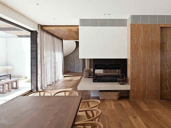 Casa Yarra de Leeton Pointon Architects en Melbourne Australia Comedorclass=