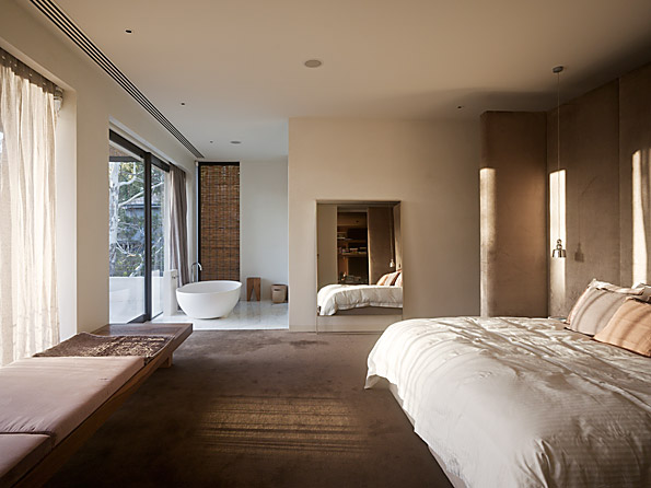 Casa Yarra de Leeton Pointon Architects en Melbourne Australia Dormitorioclass=