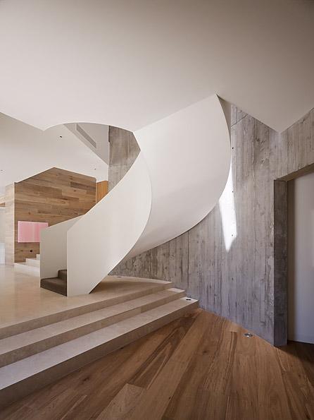 Casa Yarra de Leeton Pointon Architects en Melbourne Australia Escalera 2class=