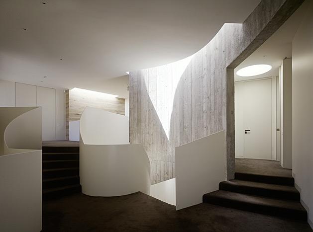 Casa Yarra de Leeton Pointon Architects en Melbourne Australia Escalera 3class=