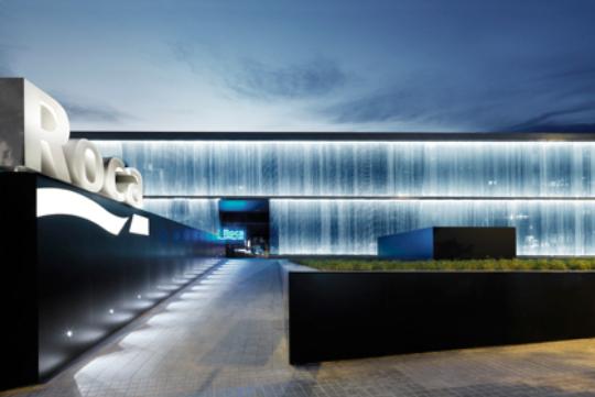 Roca gallery nuevo show room de roca dise ado por oab for La roca gallery