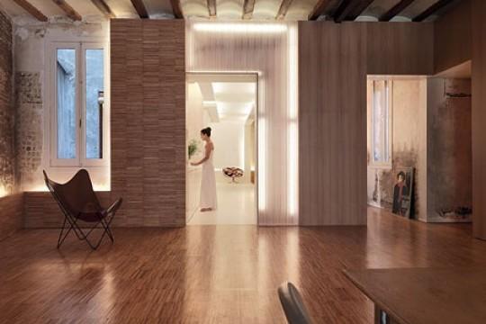 Apartamento del arquitecto gus w stemann en barcelona - Permiso obras piso barcelona ...