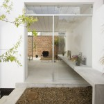 Casa Cubo Brasil  fachada interior
