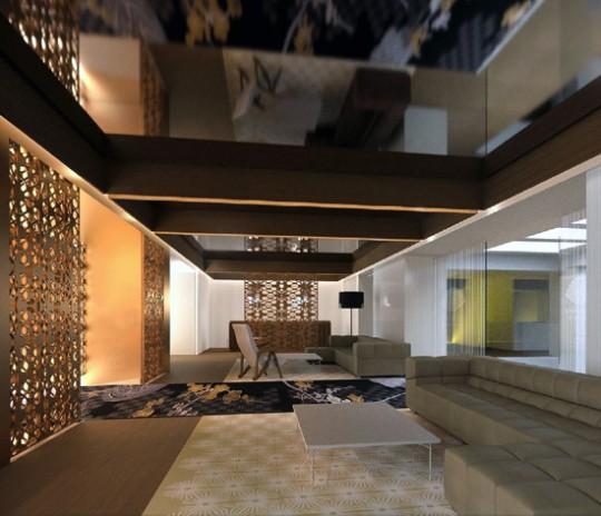 Hotel mandarin oriental en barcelona con interiores de - Diseno interiores barcelona ...