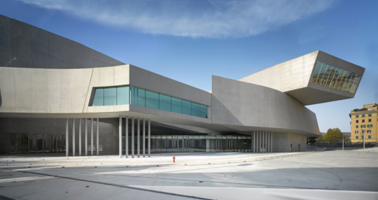 Museo MAXXI en Roma de Zaha Hadid 1