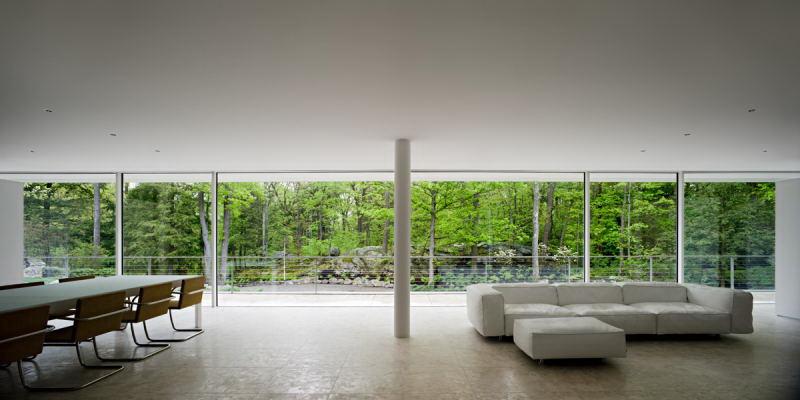 Olnick spanu house alberto campo baeza interior 2 - Casa campo baeza ...