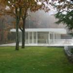 Olnick Spanu House Alberto Campo Baeza lateral niebla