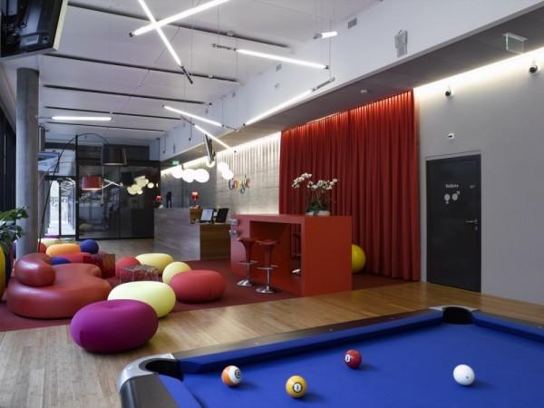 Oficinas de google en zurich de los arquitectos camezind for Concepto de oficina moderna