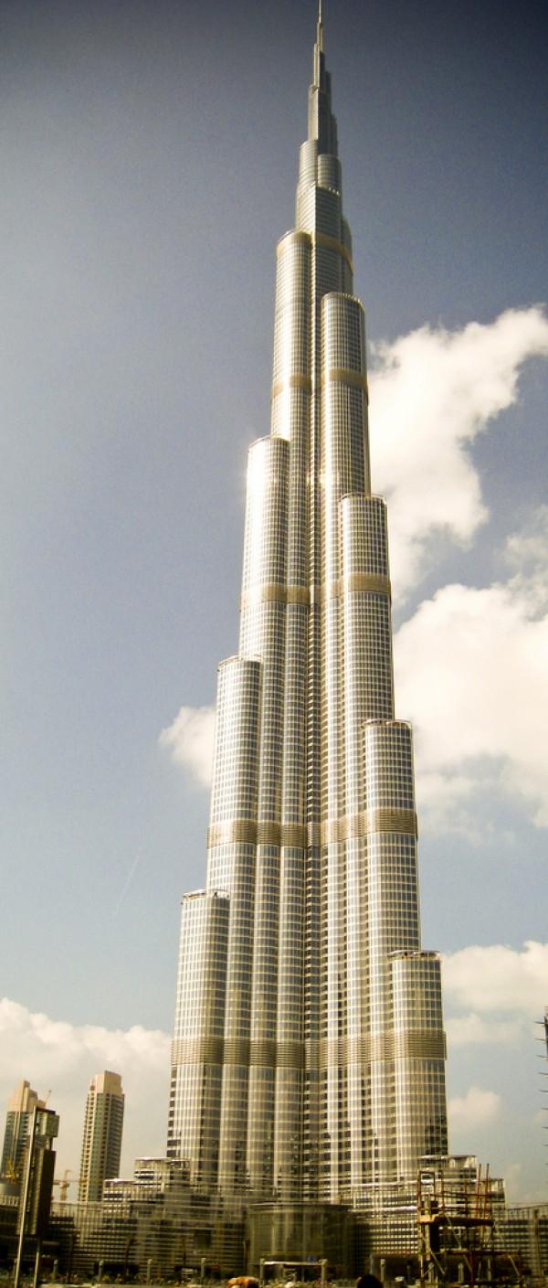 Fotograf as del burj dubai el edificio m s alto del mundo for Edificio movil en dubai