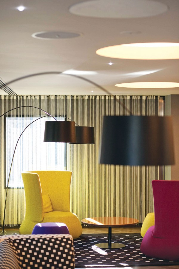 matteo thun dise a el primer hotel missoni en edimburgo. Black Bedroom Furniture Sets. Home Design Ideas