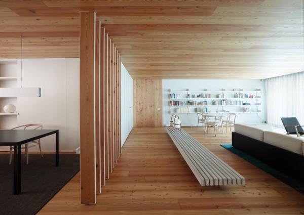 Un piso de inspiraci n n rdica dise o de baas arquitectos - Pisos de diseno en barcelona ...
