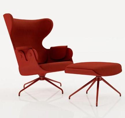 Nueva butaca lounger de bd firmada por jaime hay n for Fabricantes sillas modernas
