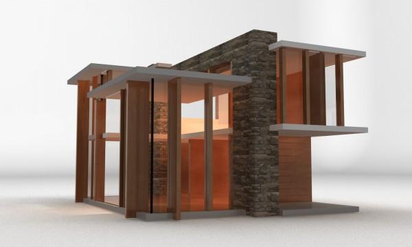Emerson House: arquitectura de Mies van der Rohe a escala infantil