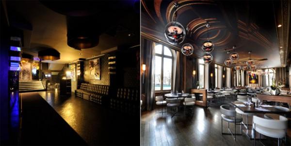 L arc dise o sofisticado para la noche parisina for Vip room interior design