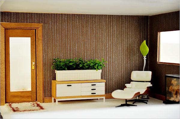el mobiliario moderno por lo menos como un juego