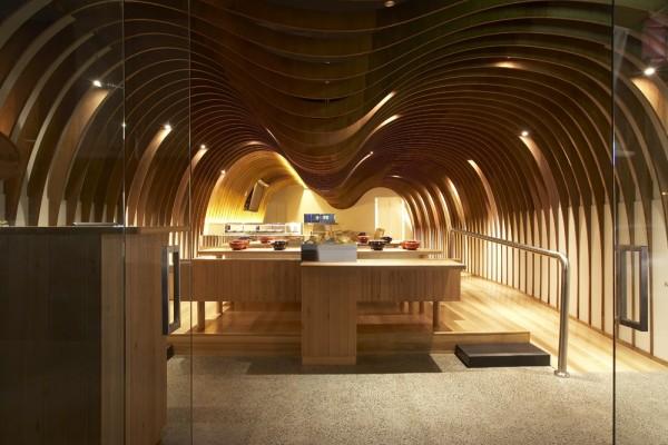 Restaurante Cave en Australia: una experiencia cálida de acústica amable