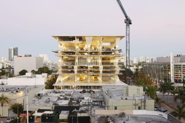 Herzog & de Meuron diseñan un parking escultura en Miami