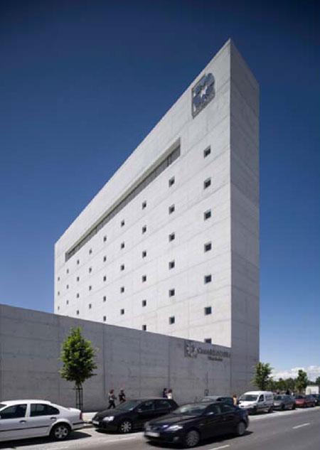 Museo de la memoria de andaluc a en granada de alberto for Caja de granada oficinas