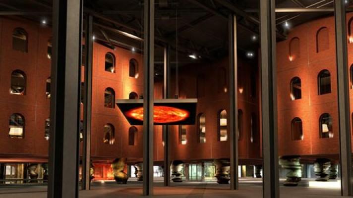 Alhondiga en  Bilbao rehabilitacion de Philippe Starck