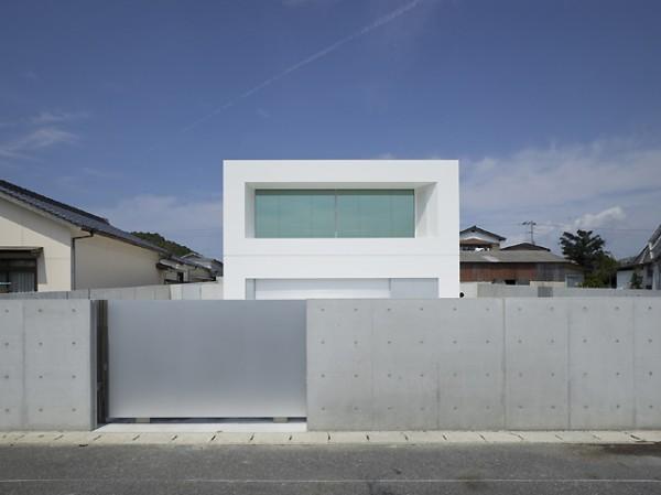 Takao shiotsuka una casa minimalista con vistas for Casa minimalista japonesa
