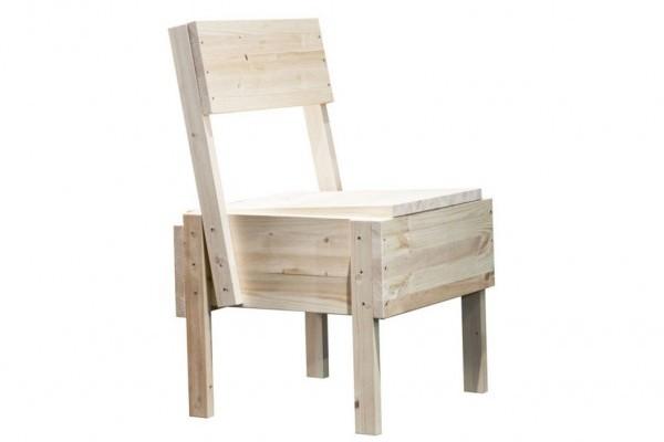 Sedia 1 la silla econ mica de enzo mari para artek for Enzo mari sedia 1
