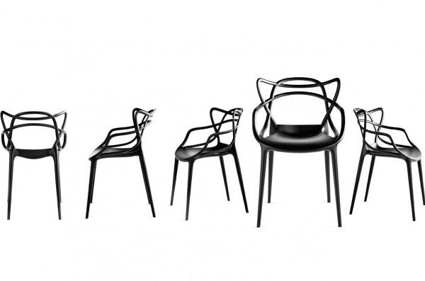 Eames jacobsen y saarinen juntos en la silla masters de - Silla philippe starck ...