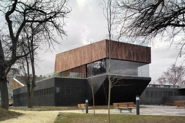 Nueva sede de medio ambiente en zaragoza de mag n - Arquitectos en zaragoza ...