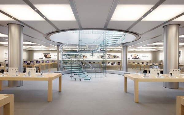 Apple store shanghai design apple for Oficinas de apple