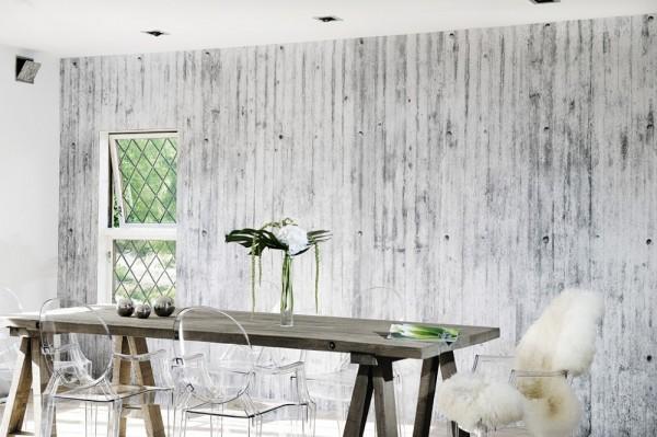 Concrete walls papeles pintados con sorprendentes - Papeles pintados lavables ...