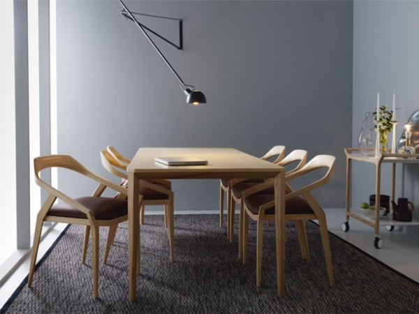 Antalope Chair and Table, a Wooden Dining Sets by Monica Forster