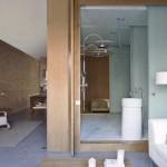 1 Loft en Barcelona de YLAB salón-baño