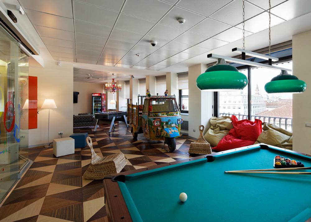 Oficinas de google en mil n de los arquitectos albera for Oficinas google barcelona